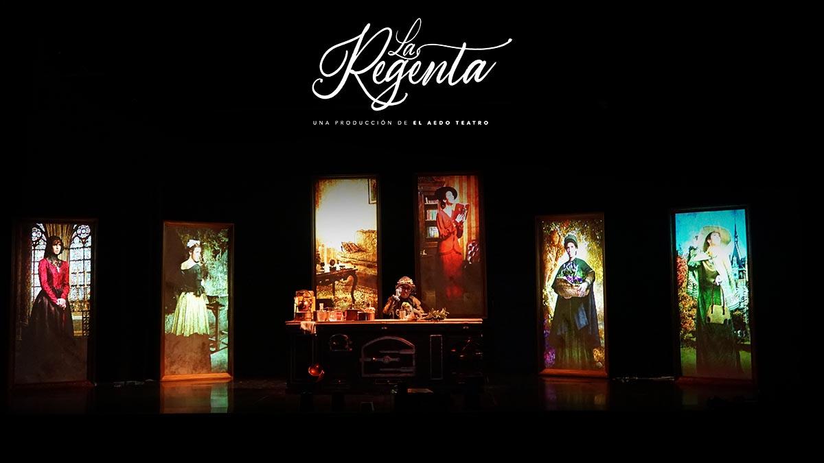 La Regenta. Espectáculo de El Aedo Teatro